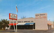 Phoenix Arizona~Victory Tent & Awning Store~East Indian School Road~1957 PC