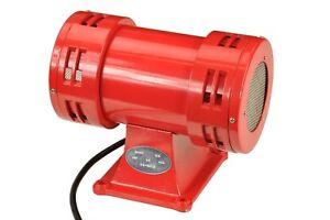 113dB Syrena silnikowa elektryczna syrena alarmowa głośna podwójna 230V W0267