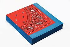"""10"""" Pack of 16 Wild West Napkins - Party Way out Cowboy 10 Western Tableware X"""