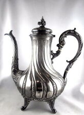 STERLING SILVER from FRANCE: Superb TEAPOT or COFFEE POT in good condition 655 G