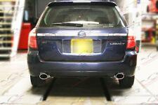Custom Performance Exhaust System Fabrication Subaru Legacy Forester Twin Turbo