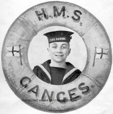 HMS GANGES IN YEARS GONE BY - 30 PHOTOGRAPHS - ROYAL NAVY - SHOTLEY