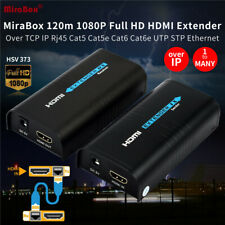 HSV373 HDMI Extender 120m HD CAT5e/6 Rj45 UTP/STP HDMI Over IP Sender+Receiver