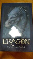 SIGNED Christopher Paolini Eragon Inheritance Book One signed 1st /1st uk ed