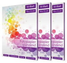 150 Blatt Fotopapier 10x15 cm 180g glänzend fotokarten glossy weiß