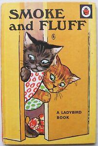 Vintage Ladybird Book – Smoke and Fluff – Animal Rhymes 401 – Very Good