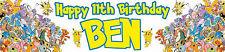 Pokemon Banner  - Buy 2 get 1 free - Buy 3 get 2 free