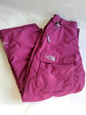 The North Face Hyvent Snowboarding Snowpants Girls Large Size 14/16 Dark Pink