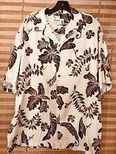 Vintage L Iolani Rayon Hawaiian Shirt In Mint Condition