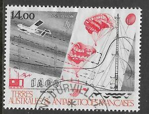 FRENCH ANTARCTIC TAAF 1986 SCIENTIFIC RESEARCH Parachutes 1v FINE USED