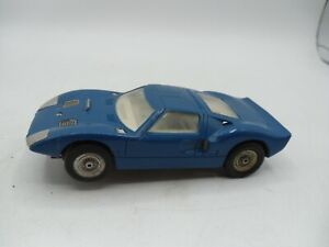 1/32 ATLAS FORD GT LEMANS RTR slot car with Chassis & Body Clean used shape