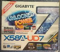GIGABYTE GA-X58A-UD7 18GB ram Intel X58 USB3.0 ud7