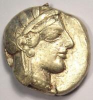 Ancient Athens Greece Athena Owl Tetradrachm Coin (454-404 BC) - Nice VF