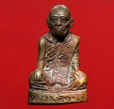 thai buddha amulet OLD LP Kuay The maestro Fetish Holy POWERFUL