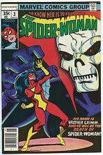 SPIDER-WOMAN #3 June 1978 NM- 9.2 OWW COCKRUM Cover INFANTINO Art MARVEL Comics