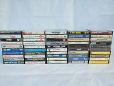 Vintage Cassettes Tape Lot Of 50 Pics Show Titles Great Titles 1960-1990's #5