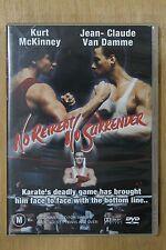 No Retreat, No Surrender (DVD, 2004)  - (D76)