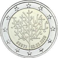 Estland 2 Euro 2020 bfr 100 Jahre Frieden von Tartu