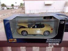 Maisto Porsche Boxter Diecast Car NIB 1:24 39133