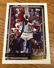 1992-93Topps Gold #362 Shaquille O'Neal Rookie Orlando Magic Shaq RC