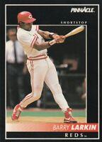 FREE SHIPPING-MINT-1992-Pinnacle #5 Barry Larkin Cincinnati Reds +BONUS CARDS