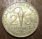 TRES BELLE PIECE DE 25 FRANCS AFRIQUE DE L'OUEST 1999 (172)
