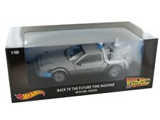 HWCMC98 by HOT WHEELS DELOREAN BACK TO THE FUTURE 1:18