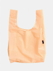 NWT BrandNew BAGGU Standard Reusable Bag Neon ELECTRIC PEACH SOLD OUT EVERYWHERE