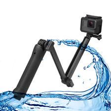 Flexible 3-Way Selfie Stick Hand Grip Monopod Tripod for Mobius #16 Gopro Camera