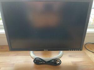 """Dell UltraSharp 24"""" LCD Monitor built in USB hub & card reader"""
