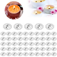 Lot Iron DIY Wood Candle Wick Clip Base Stand Holder Hole Device Making Tool Set