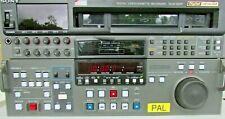 Sony DVW-500P PAL Digital Betacam editing recorder