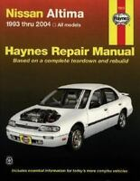 Haynes 72015 Repair Manual: Haynes Nissan Altima 1993 Thru 2004