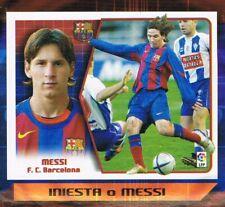 Liga Este 2005/2006 card Rookie MESSI BARCELONA Pegado