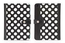 Griffin iPad Mini 3, 2, 1 Back Bay Folio a pois nero/bianco/turchese