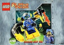 Lego® - 4790 - Alpha Team Deep Sea Robot Diver Tauchroboter - Mission Deep Sea