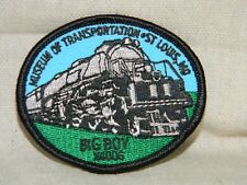 Patch of Famous Big Boy Steam Engine #4006