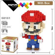 Diamond Blocks Building Toy Super Mario 3D Diy Bricks For Kids Children's 345Pcs