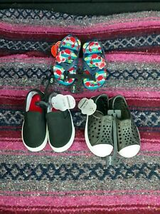 Lot Of 3 Toddler Boy Sandals, Size 7-8, NWT