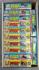 Desert Storm Trading Card 12 Box Lot
