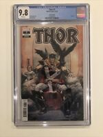 Thor #7 CGC 9.8 Donny Cates 2020 Nic Klein variant cover