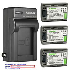 Kastar Battery AC Wall Charger for Sony NP-FP30 NP-FP50 NP-FP51 NP-FP60 NP-FP70