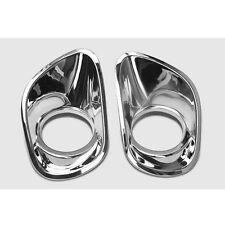 ABS Chrome For Jeep Patriot 2011-17 Auto Front Fog Light Lamp Daytime Cover Trim