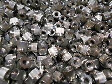 Lot of 50  M6 - 1.0 Steel Threaded Insert Weld Drive Nut