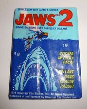 1978 OPC Jaws 2 Movie Card Pack Fresh from Box!