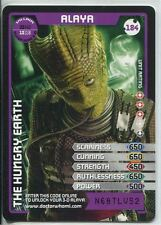 Doctor Who Monster Invasion Extreme Card #184 Alaya