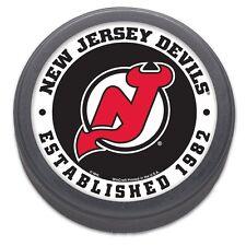 New Jersey Devils Established 1982 NHL Collectors Puck