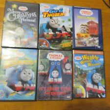 6 Thomas and Friends DVD Escapades wobbly wheels salty merry christmas LOT #2