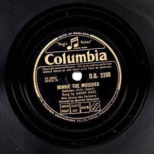 Clásico Danny Kaye 78 Minnie The Moocher / Dinah GB Columbia DB 2390 E/E