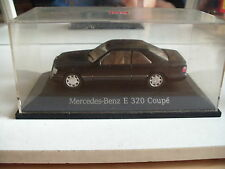 Herpa Mercedes E 320 Coupe in Black on 1:43 in Box
